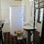 The very clean bathroom