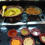 Cooking class, with tagine