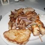 diner in grill restaurant