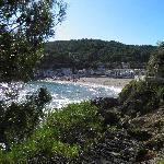 Beach at Sa Riera