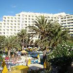 vista hotel desde hamaca