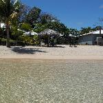 savaii lagoon from the beach