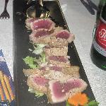 tagliata di tonno per 4 persone