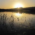 Sunrise over lake Tislite