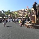 Entrada Clubhotel Riu Buenavista (simulacro de evacuación por incendio)