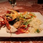 dinner (with lobster) all included with nights stay!