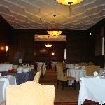 Dining room - set for breakfast