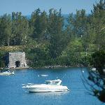 Overlooking Grotto Bay.