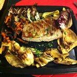 fresh tuna with verdura grilgiata.