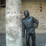 Plaza de la Catedral_Escultura Antonio Gades