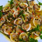 Passion Fruit Clams - simple succulent and successful combination