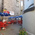 Pizza Grande Courtyard