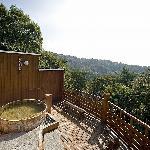 長野県小諸 菱野温泉常盤館展望露天風呂「雲の助」