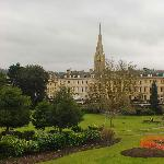 View from central Bath