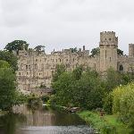 Warwick Castle from the Ramparts