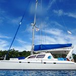 Our luxury Catamaran Two if by Sea