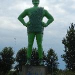 The Jolly Green Giant Himself!