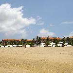 Veiw from beach
