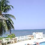 mineral pool/ocean view