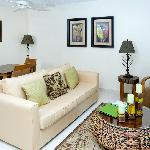 Standard one bedroom living room