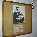 Casa Natal de José Martí_Su única foto sonriendo, aqui con su hijo José Francisco