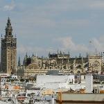 vue du toit de l'hôtel