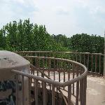 Water tower platform