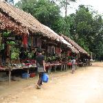 Vensor stalls at Phnom Kulen