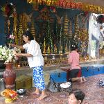 Temple worshippers