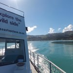 Leaving Akaroa