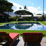 Saltwater pool at Outrigger Aina Nalu
