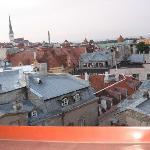 Blick aus unserem Zimmer auf die Altstadt