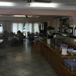 hotplate/dining area