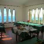la sala ristorante (interno)