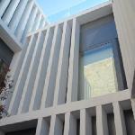 Vista de una fachada interior