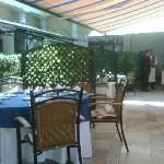 i tavoli all'aperto