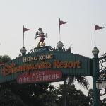 disney welcome sign