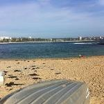 Shelly Beach on a winters day