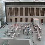 Atrium restaurant between new wing and older wing