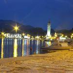 zante town by night