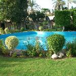 Oasis Hotel fountain
