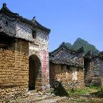 Village gate entrance