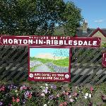 Arrive by one of the regular trains - less stressed at Horton-in-Ribblesdale railway station