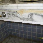 mould and mildew in bathroom