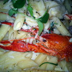 Penne with seafood - Best dish EVER!