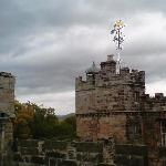 Ramparts and weather vane