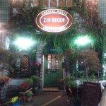 Outside Zio Ricco's