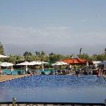 The blue pool (atlas mountains in background)