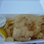 Fresh cod & chips £6.80 at Wee Hurrie Troon