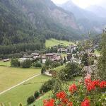Uitzicht balkon Post Hotel Heiligenblut
